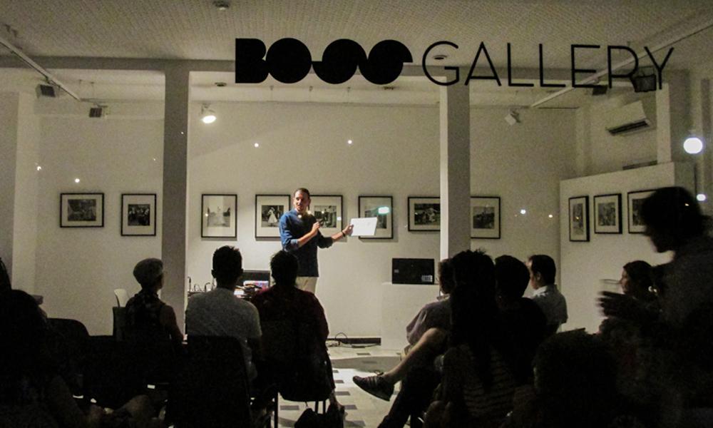 Spettacolo Con Jacopo Benassi Alla BOSS Gallery